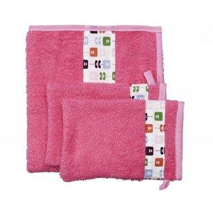Trixie Baby handdoek met washandjes Floral