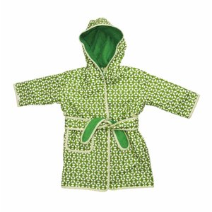 Trixie Baby badjas Geo Green