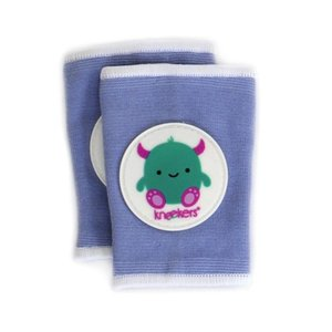 Ah Goo Baby Kneekers kniebeschermers Friendly Monster Periwinkle