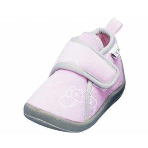Playshoes pantoffels pastel roze