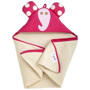3Sprouts Hooded Towel Elephant