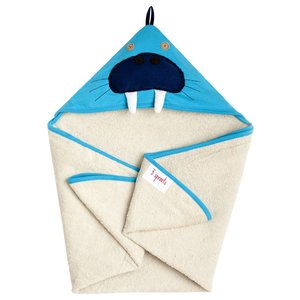 3Sprouts Hooded Towel Walrus