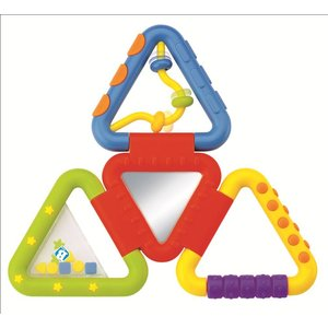 B'Kids Rattle & Teether fold 'n play
