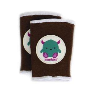 Ah Goo Baby Kneekers kniebeschermers Friendly Monster Toffee