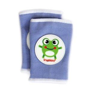 Ah Goo Baby Kneekers kniebeschermers Hoppy Frog Periwinkle