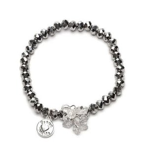 Proud MaMa armband Charm zilver beads