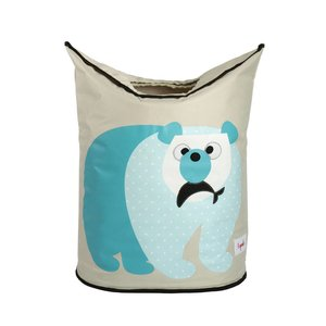 3Sprouts Laundry Hamper Polar Bear