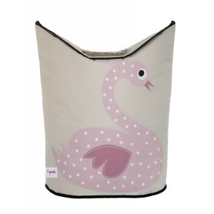 3Sprouts Laundry Hamper Swan
