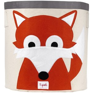 3Sprouts Storage Bin fox