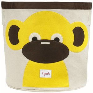 3Sprouts Storage Bin monkey