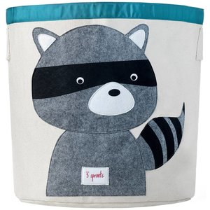 3Sprouts Storage Bin raccoon