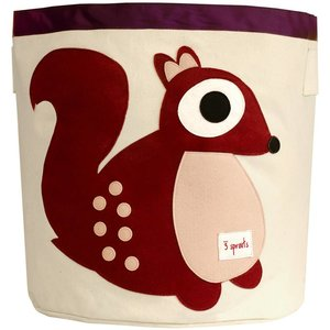 3Sprouts Storage Bin squirrel