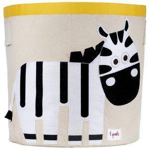3Sprouts Storage Bin zebra