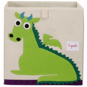 3Sprouts Storage Box dragon