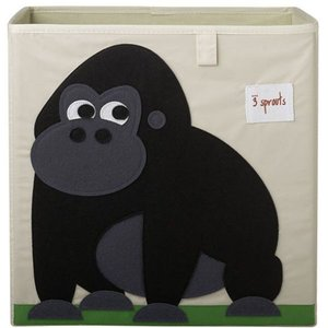 3Sprouts Storage Box gorilla