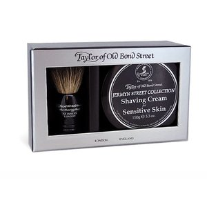 Taylor of Old Bond Street Jermynstreet Giftbox Pure Badger & Shavingcream