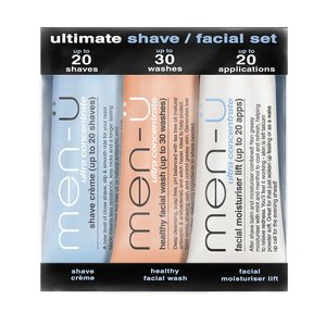 Men-U Ultimate shave / facial set