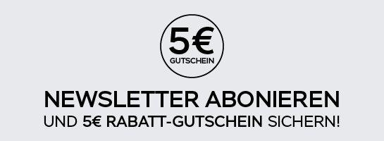 5,-€ Rabatt-Gutschein sichern!