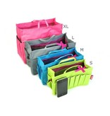 Bag in Bag  Medium  Limited Edition  Grijs / Hondjes