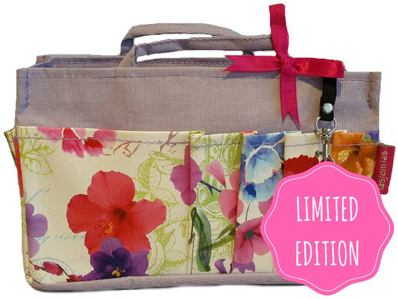Bag in Bag  Medium  Limited Edition  Lavendel / Veldbloemen