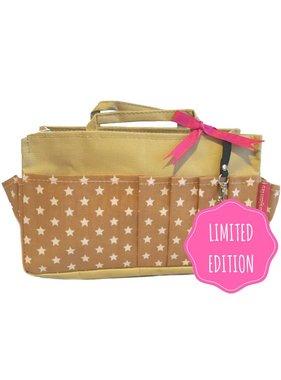 Bag in Bag - Medium - Limited Edition - Khaki / Sterretjes