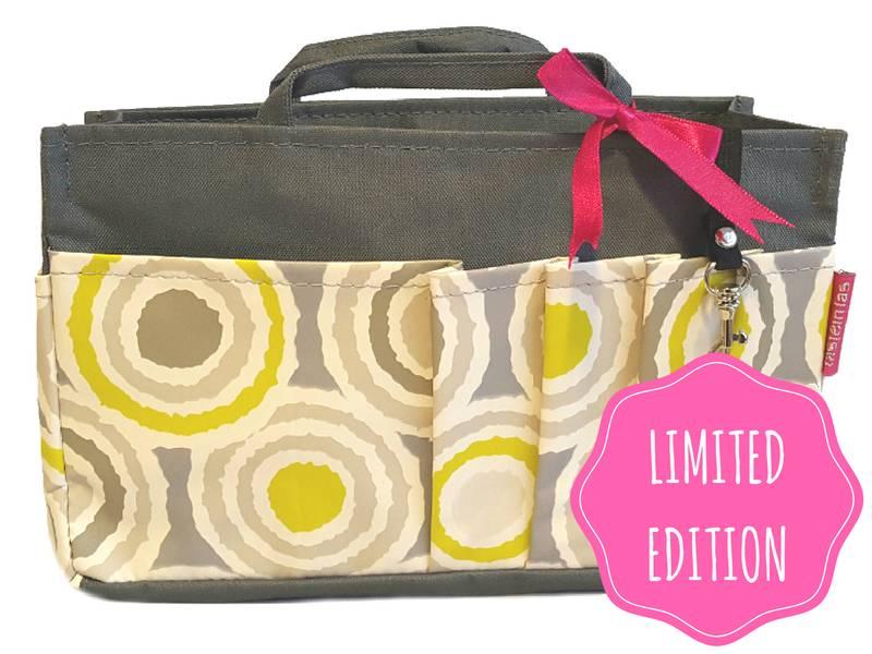 Bag in Bag - Medium - Limited Edition - Grijs - Retro
