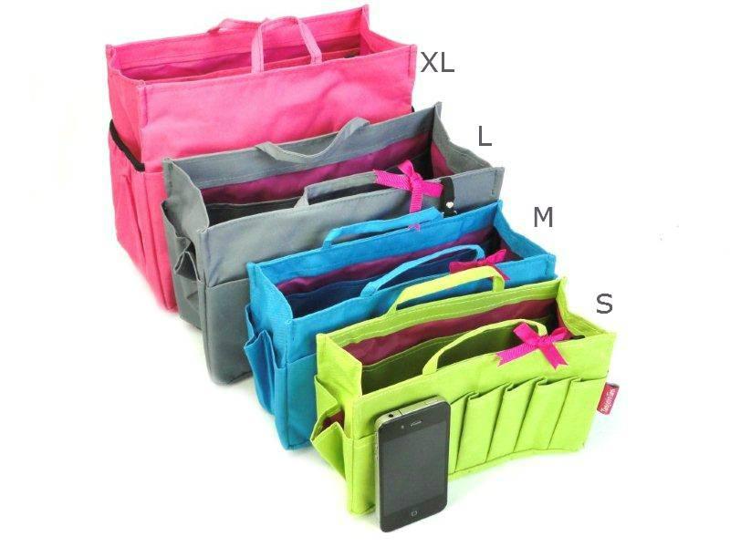 Bag in Bag - Medium - Limited Edition - Blauw / Cupcakes
