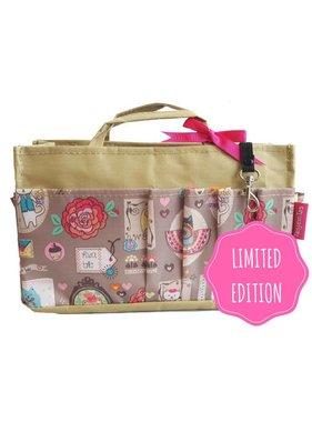 Bag in Bag - Medium - Limited Edition - Khaki / Happy