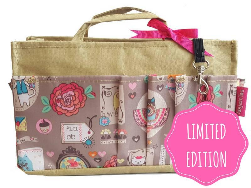 Bag in Bag - Medium - Limited Edition - Khaki - Happy