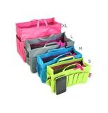 Bag in Bag  Medium  Limited Edition  Grijs / Gehaakte Hondjes
