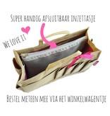 Bag in Bag - Medium - Limited Edition - Khaki / Baby Uiltjes
