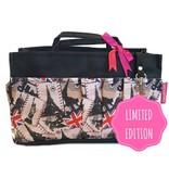 Bag in Bag  Medium  Limited Edition  Zwart / Londen