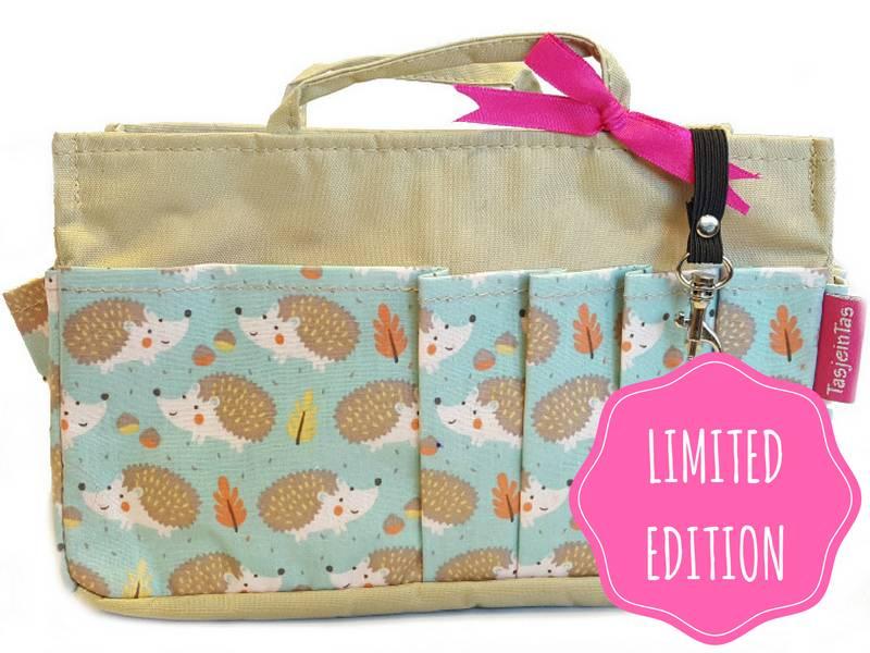 Bag in Bag - Medium - Limited Edition - Khaki / Egeltjes