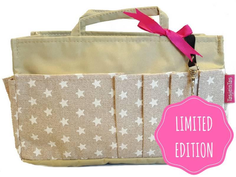 Bag in Bag - Medium - Limited Edition - Khaki - Stars