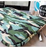 13inch Dames Laptop Sleeve Combat Blue
