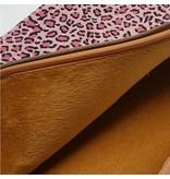 14inch Dames Laptop sleeve Bruin Luipaard