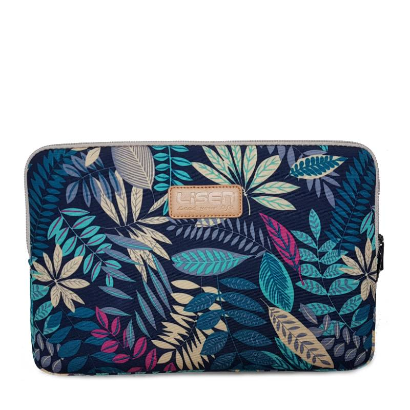14inch Dames Laptop sleeve Forest Blue