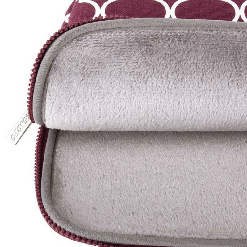 13inch Dames Laptop Sleeve Persian Wijnrood
