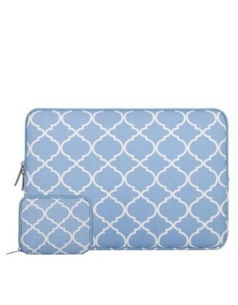 14inch-Dames-Laptop-sleeve-Persian-Lichtblauw
