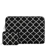 13inch Dames Laptop Sleeve Persian Zwart
