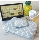 15inch Dames Laptop sleeve Persian Grijs