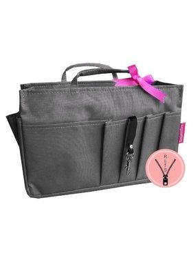 Bag in Bag - Medium - Classic - Grijs - Rits