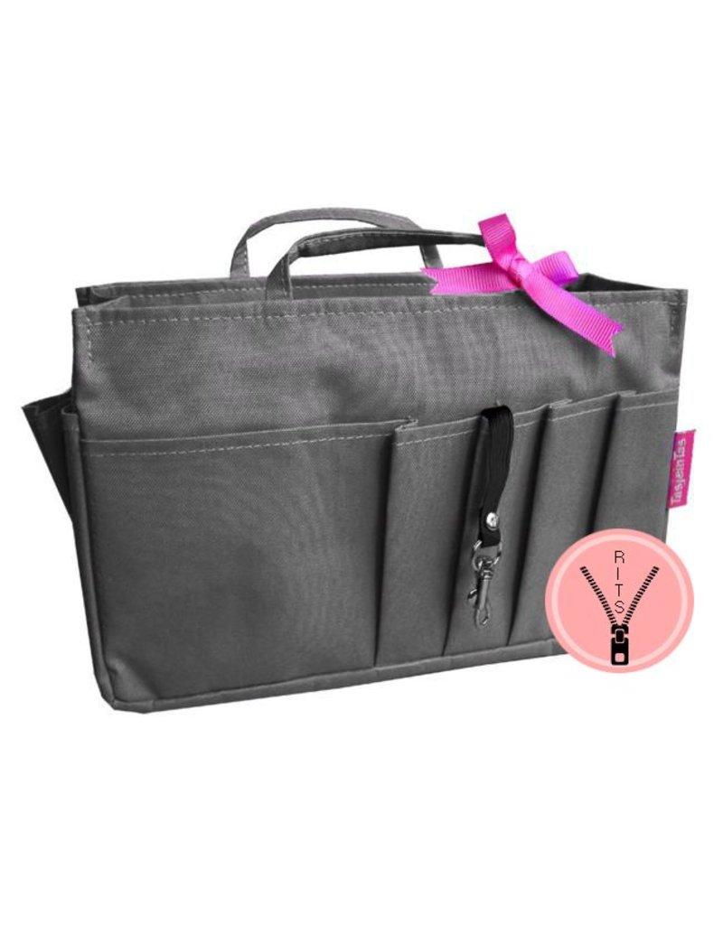 Bag in Bag - Large - Classic - Grijs - Rits