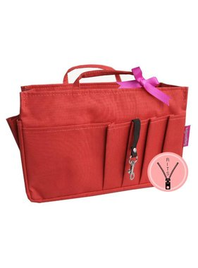 Bag in Bag - Large - Classic - Rood - Rits