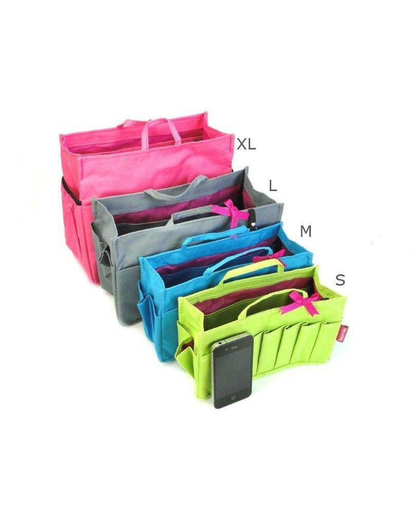 Bag in Bag - Large - Classic - Bruin - Rits
