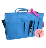 Bag in Bag Medium Classic Blauw Rits