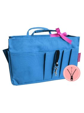 Bag in Bag - Medium - Classic - Blauw - Rits
