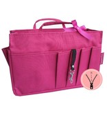 Bag in Bag - Medium - Classic - Roze - Rits