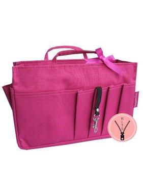 Bag in Bag - Medium - Classic - Roze - Rits