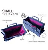 Bag in Bag  Small  Classic  Bruin  Rits